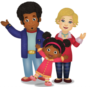 Elaina e famiglia